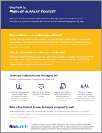Patient Access Manager Overview PDF